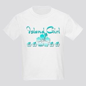 Island Girl II Kids Light T-Shirt